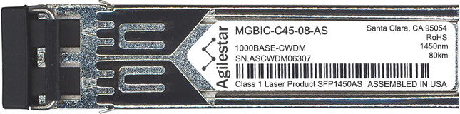 Enterasys MGBIC-C45-08-AS (Agilestar Original) SFP Transceiver Module