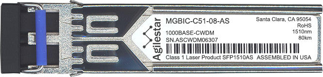 Enterasys MGBIC-C51-08-AS (Agilestar Original) SFP Transceiver Module