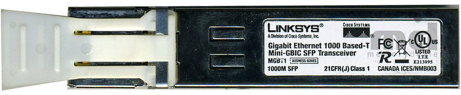 Linksys MGBT1 (Linksys Original) SFP Transceiver Module
