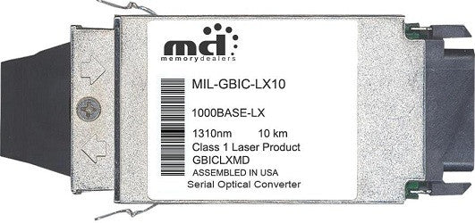 Milan MIL-GBIC-LX10 (100% MiLan  Compatible) GBIC Transceiver Module