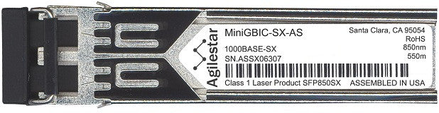 Alcatel SFP Transceivers MiniGBIC-SX-AS (Agilestar Original) SFP Transceiver Module