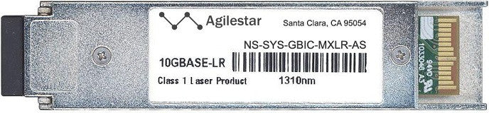 Juniper Networks NS-SYS-GBIC-MXLR-AS (Agilestar Original) XFP Transceiver Module