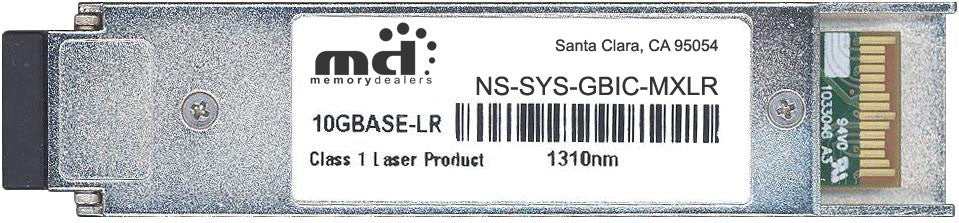 Juniper Networks NS-SYS-GBIC-MXLR (100% Juniper Compatible) XFP Transceiver Module