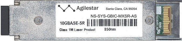 Juniper Networks NS-SYS-GBIC-MXSR-AS (Agilestar Original) XFP Transceiver Module