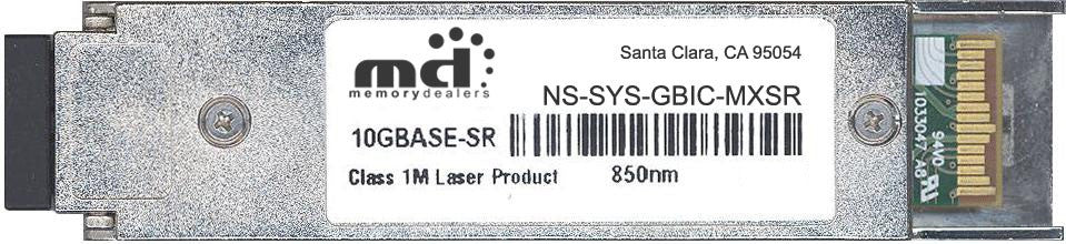 Juniper Networks NS-SYS-GBIC-MXSR (100% Juniper Compatible) XFP Transceiver Module