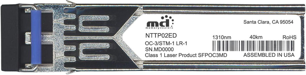 Nortel NTTP02ED (100% Nortel Networks Compatible) SFP Transceiver Module