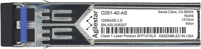 Telco O281-40-AS (Agilestar Original) SFP Transceiver Module