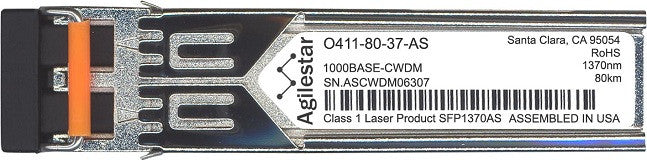 Telco O411-80-37-AS (Agilestar Original) SFP Transceiver Module