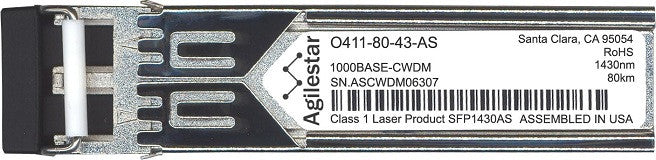 Telco O411-80-43-AS (Agilestar Original) SFP Transceiver Module