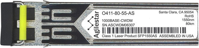 Telco O411-80-55-AS (Agilestar Original) SFP Transceiver Module