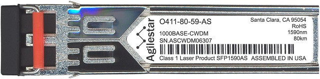 Telco O411-80-59-AS (Agilestar Original) SFP Transceiver Module