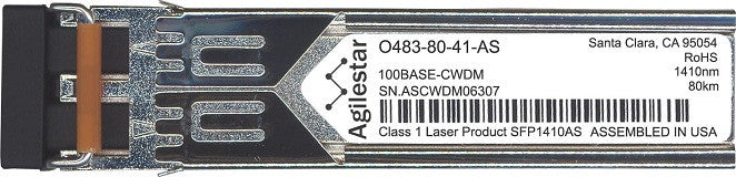 Telco O483-80-41-AS (Agilestar Original) SFP Transceiver Module