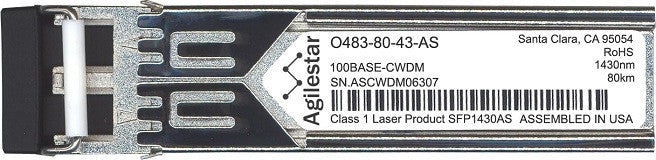 Telco O483-80-43-AS (Agilestar Original) SFP Transceiver Module
