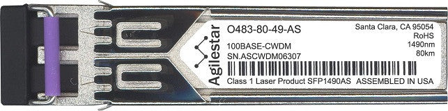 Telco O483-80-49-AS (Agilestar Original) SFP Transceiver Module
