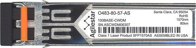 Telco O483-80-57-AS (Agilestar Original) SFP Transceiver Module