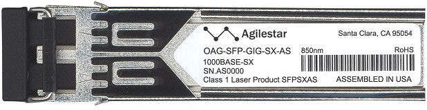 Alcatel SFP Transceivers OAG-SFP-GIG-SX-AS (Agilestar Original) SFP Transceiver Module