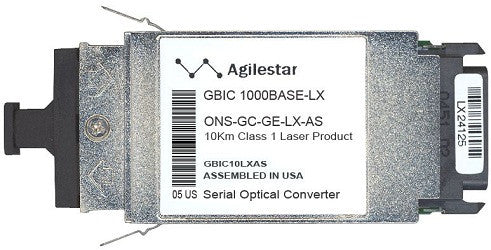 Cisco GBIC Transceivers ONS-GC-GE-LX-AS (Agilestar Original) GBIC Transceiver Module