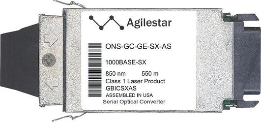 Cisco GBIC Transceivers ONS-GC-GE-SX-AS (Agilestar Original) GBIC Transceiver Module