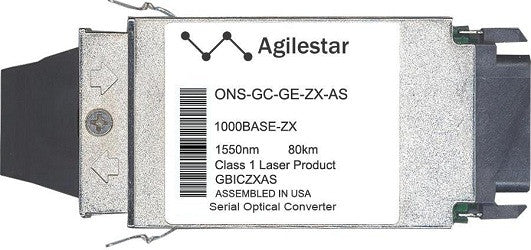 Cisco GBIC Transceivers ONS-GC-GE-ZX-AS (Agilestar Original) GBIC Transceiver Module