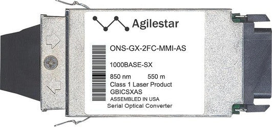 Cisco GBIC Transceivers ONS-GX-2FC-MMI-AS (Agilestar Original) GBIC Transceiver Module