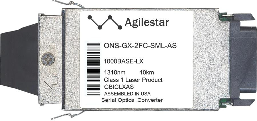 Cisco GBIC Transceivers ONS-GX-2FC-SML-AS (Agilestar Original) GBIC Transceiver Module