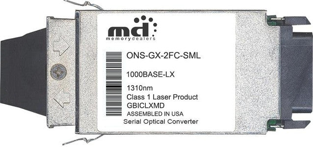 Cisco GBIC Transceivers ONS-GX-2FC-SML (100% Cisco Compatible) GBIC Transceiver Module