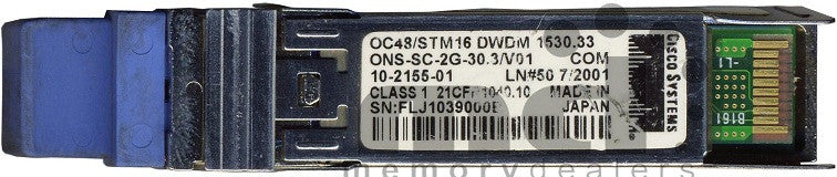 Cisco SFP Transceivers ONS-SC-2G-30.3 (Cisco Original) SFP Transceiver Module