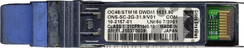 Cisco SFP Transceivers ONS-SC-2G-31.9 (Cisco Original) SFP Transceiver Module