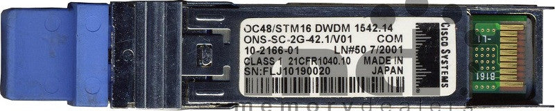 Cisco SFP Transceivers ONS-SC-2G-42.1 (Cisco Original) SFP Transceiver Module