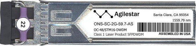 Cisco SFP Transceivers ONS-SC-2G-59.7-AS (Agilestar Original) SFP Transceiver Module