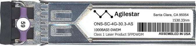 Cisco SFP Transceivers ONS-SC-4G-30.3-AS (Agilestar Original) SFP Transceiver Module
