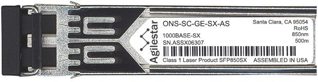 Cisco SFP Transceivers ONS-SC-GE-SX-AS (Agilestar Original) SFP Transceiver Module