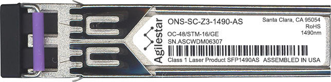 Cisco SFP Transceivers ONS-SC-Z3-1490-AS (Agilestar Original) SFP Transceiver Module