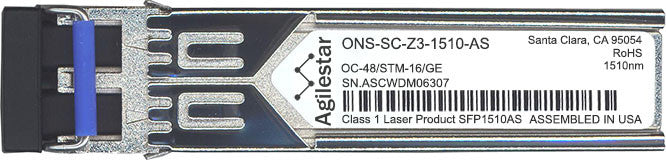 Cisco SFP Transceivers ONS-SC-Z3-1510-AS (Agilestar Original) SFP Transceiver Module