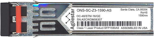 Cisco SFP Transceivers ONS-SC-Z3-1590-AS (Agilestar Original) SFP Transceiver Module