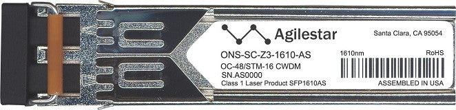 Cisco SFP Transceivers ONS-SC-Z3-1610-AS (Agilestar Original) SFP Transceiver Module