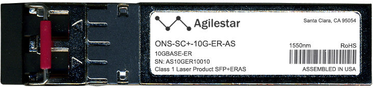 Cisco SFP+ Transceivers ONS-SC+-10G-ER-AS (Agilestar Original) SFP+ Transceiver Module