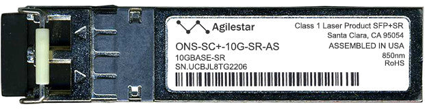 Cisco SFP+ Transceivers ONS-SC+-10G-SR-AS (Agilestar Original) SFP+ Transceiver Module