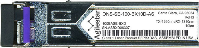 Cisco SFP Transceivers ONS-SE-100-BX10D-AS (Agilestar Original) SFP Transceiver Module