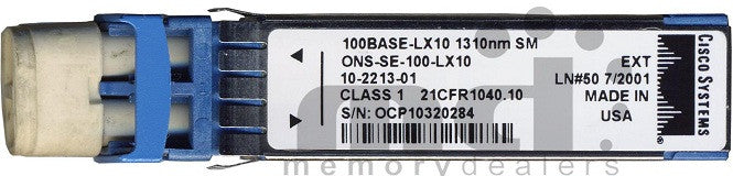 Cisco SFP Transceivers ONS-SE-100-LX10 (Cisco Original) SFP Transceiver Module