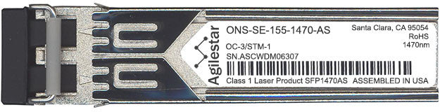 Cisco SFP Transceivers ONS-SE-155-1470-AS (Agilestar Original) SFP Transceiver Module