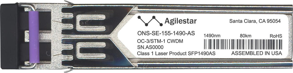 Cisco SFP Transceivers ONS-SE-155-1490-AS (Agilestar Original) SFP Transceiver Module
