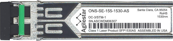Cisco SFP Transceivers ONS-SE-155-1530-AS (Agilestar Original) SFP Transceiver Module