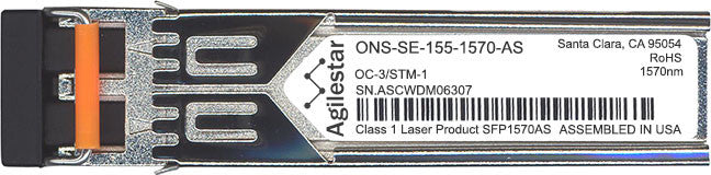 Cisco SFP Transceivers ONS-SE-155-1570-AS (Agilestar Original) SFP Transceiver Module
