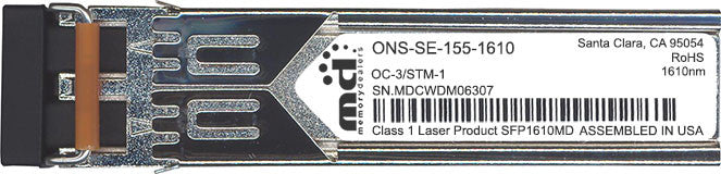 Cisco SFP Transceivers ONS-SE-155-1610 (100% Cisco Compatible) SFP Transceiver Module