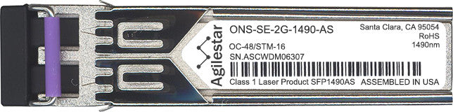 Cisco SFP Transceivers ONS-SE-2G-1490-AS (Agilestar Original) SFP Transceiver Module
