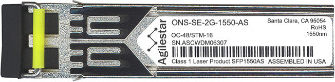 Cisco SFP Transceivers ONS-SE-2G-1550-AS (Agilestar Original) SFP Transceiver Module