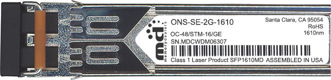 Cisco SFP Transceivers ONS-SE-2G-1610 (100% Cisco Compatible) SFP Transceiver Module