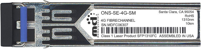 Cisco SFP Transceivers ONS-SE-4G-SM (100% Cisco Compatible) SFP Transceiver Module