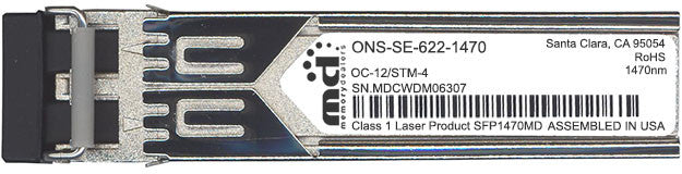 Cisco SFP Transceivers ONS-SE-622-1470 (100% Cisco Compatible) SFP Transceiver Module